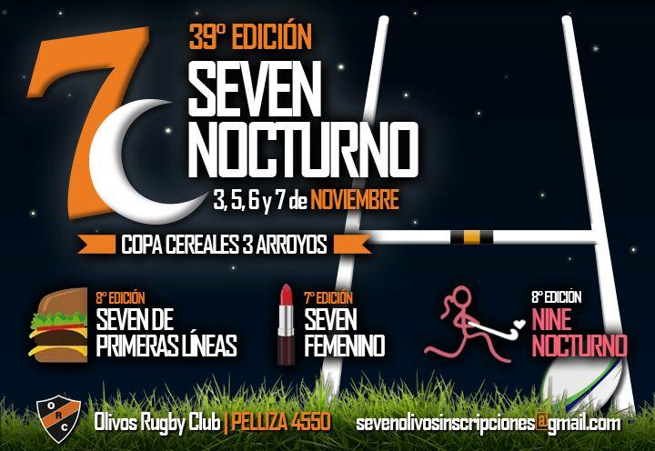 COBERTURA SEVEN NOCTURNO 2015