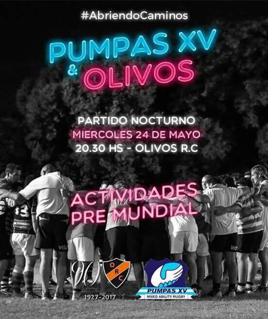 PUMPAS XV y OLIVOS