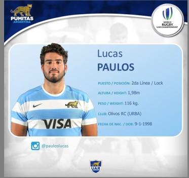 #Pumitas Felicitaciones Lucas Paulos