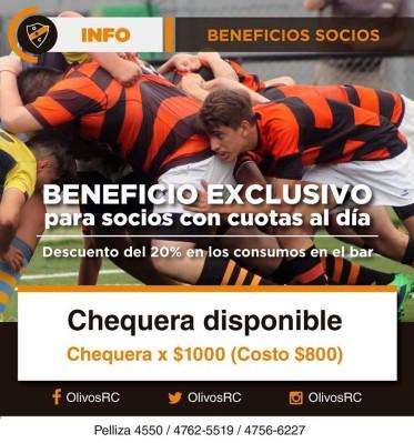 #BeneficioSocios