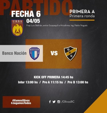 #RUGBY PREVIA vs BANCO NACIÓN (4/5/2019)