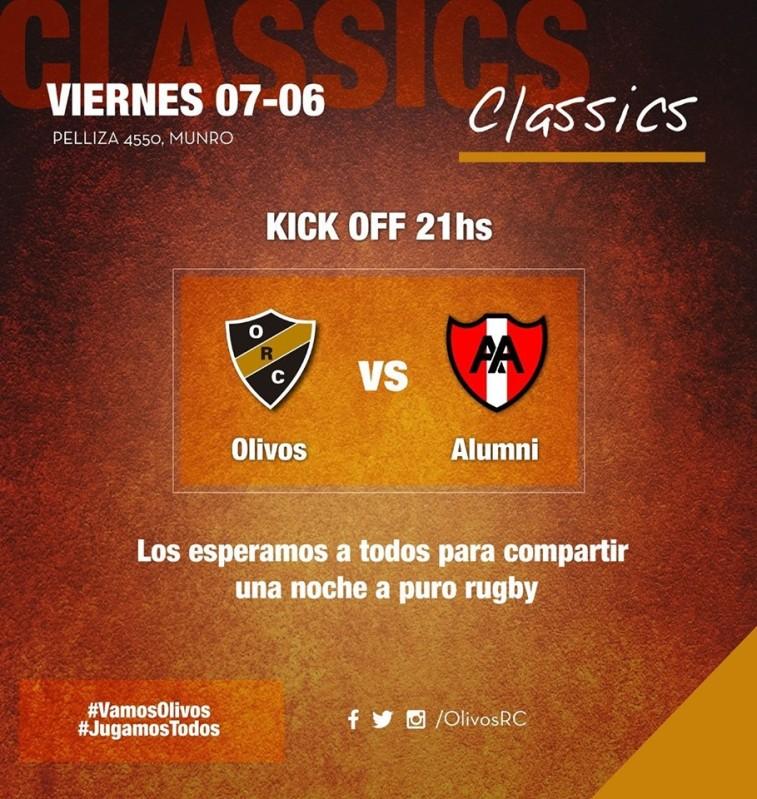 #CLASSICS OLIVOS vs ALUMNI