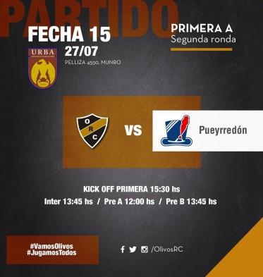 #RUGBY PREVIA vs PUEYRREDÓN