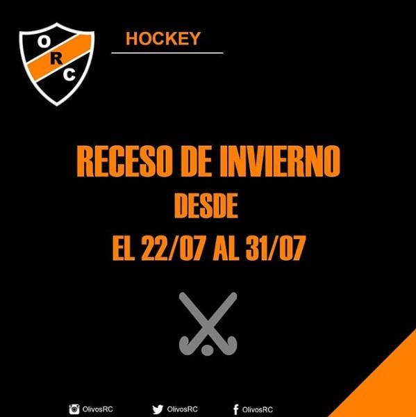 #HOCKEY RECESO DE INVIERNO