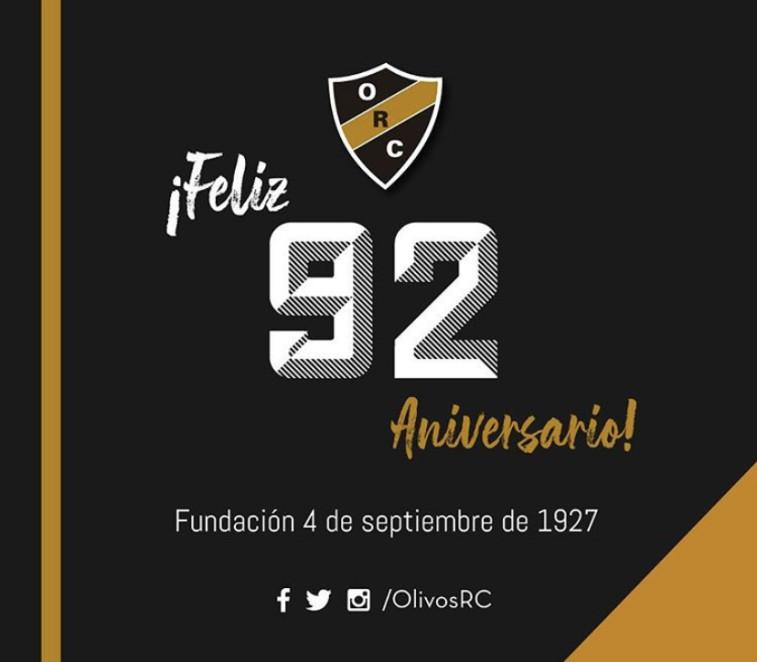 #Olivos92Aniversario