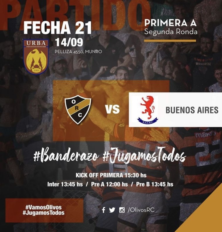 #RUGBY PREVIA vs BUENOS AIRES