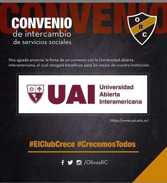 #UAI CONVENIO