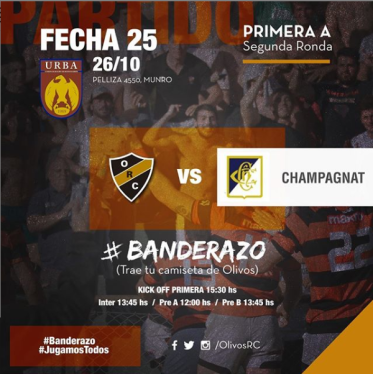 #RUGBY PREVIA vs CHAMPAGNAT