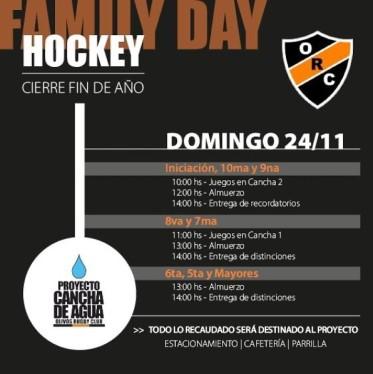 #HOCKEY DÍA DE LA FAMILIA