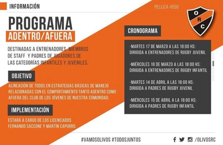 PROGRAMA ADENTRO/AFUERA