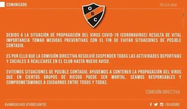 #COMUNICADO COVID-19