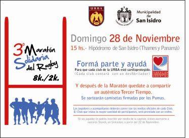 3º Maratón Solidaria