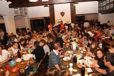Fotos de la cena de infantiles